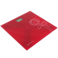Весы напольные HOMESTAR HS-6001C, электронные, до 180 кг, красные