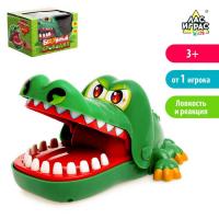 Настольная игра на реакцию «Безумный крокодил»