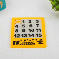 Головоломка-пятнашка «Собери цифры»
