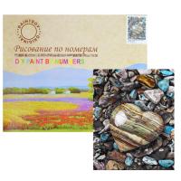 Картина по номерам «Морские камешки»