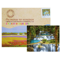 Картина по номерам «Тропический водопад»
