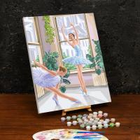 Картина по номерам «Балерины»