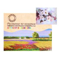 Картина по номерам «Цветение вишни»