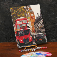 Картина по номерам «Лондон»