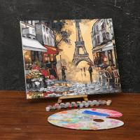 Картина по номерам «Осенний париж»