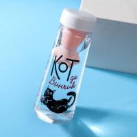 "Бутылка для воды ""Кот"", 600 мл"