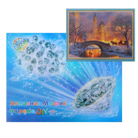 Алмазная мозаика «Ночной мост»