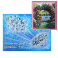 Алмазная мозаика «Цветочная арка»