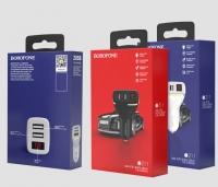 Автомобильное зарядное устройство Borofone BZ11 2.1A