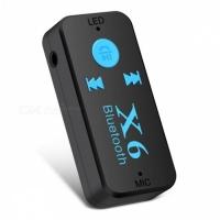 Bluetooth адаптер X6 со слотом для карт TF