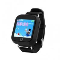 Детские часы Smart baby watch Q100 с GPS (цв.черный)