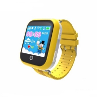Детские часы Smart baby watch Q100 с GPS (цв. желтый)