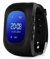 Детские часы Smart baby watch Q50 с GPS (цв. черный)