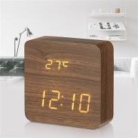Электронные часы в деревянном корпусе VST872-1
