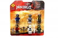 Фигурки Ninja SL89127, 6 в 1