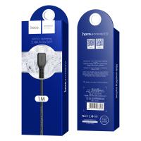 Кабель Hoco X20 Flash lightning charging cable (L=1M)