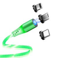 Кабель USB магнитный светящийся X-Cable