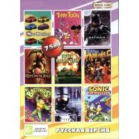 Картридж для Sega 75 игр