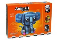 Конструктор Animals 11041B (130+ дет.)