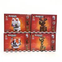 Конструктор Animals 11042B (130+ дет.)