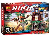 Конструктор Bela Ninja 10461 (448 дет.)