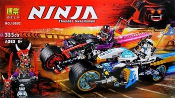 Конструктор Bela Ninja 10802 (333 дет.)