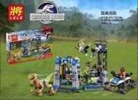 Конструктор Lele Dinosaur World 79180 (406 дет.)