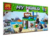 Конструктор Lele My World 33221 (446 дет.)