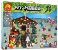 Конструктор Lele My World 33246 (554 дет.)