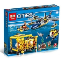 Конструктор Lepin Cities 02088 (1016 дет.)