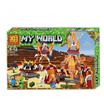 Конструктор Lezi My World 93063 (350 дет.)