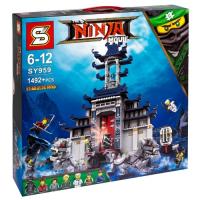 Конструктор Ninja SY959 (1492 дет.)