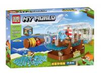 Конструктор PRCK My World 63050 (897 дет.)