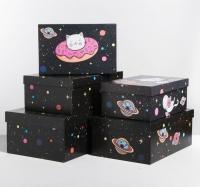 Коробка подарочная картонная 21,5х13,5х8,5 см
