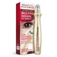 Крем для кожи вокруг глаз Bioaqua с массажным охлаждающим роликом, 15 мл.