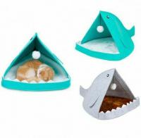 Лежанка-домик для кошек и маленьких собак