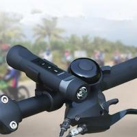Многофункциональный фонарик - колонка на велосипед