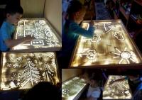 Набор для рисования песком световой