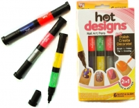 Набор лаков-маркеров для дизайна ногтей