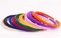 Набор пластика для 3D ручек: PLA-9 (по 10 м. 9 цветов в коробке)
