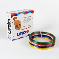 Набор пластика для 3D ручек: UNID PRO-6 (по 10 м. 6 цветов)