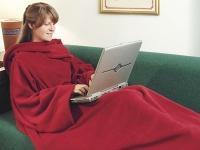 Одеяло-Плед-Халат с рукавами Cuddle Blanket