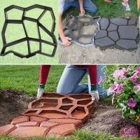 Форма-опалубка для изготовления садовой дорожки 60*60