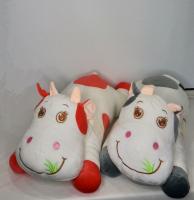 Мягкая игрушка-подушка Корова 60 см