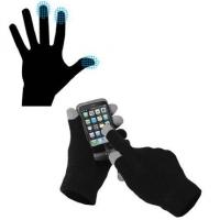 Перчатки для сенсорных устройств черные