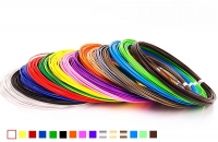 Набор пластика для 3D ручек: PLA-15 (по 10 м. 15 цветов в коробке)