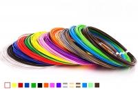Набор пластика для 3D ручек: ABS-15 (по 10 м. 15 цветов в коробке)