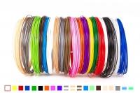 Набор пластика для 3D ручек: PLA-20 (по 10 м. 20 цветов в коробке)