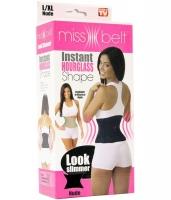 Пояс Miss Belt (Мисс Белт) цвет черный, размер L-XL