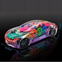 Прозрачная Машина с шестеренками